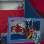<em>Red Comes to Wolf's Bed</em>, 1981, Cibachrome, 24 x 20 inches