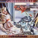 <em>Campbellesville Days My Heart Belongs to Daddy</em>, 1982, hand-ground oil on canvas, 30 x 40 inches