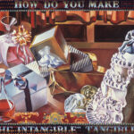<em>How Do You Make the Intangible Tangible?</em> 1974–75, hand-ground oil on canvas, 30 x 40 inches