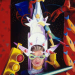 <em>The Night of the Empire Purim Crown</em>, 1991, hand-ground oil on canvas, 32 x 28 inches