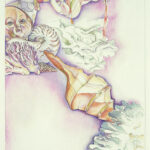 <em>Underwater Splendor Robs Me of All Ambition</em>, watercolor, 1978, 18 x 12 inches