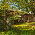 <em>Farmhouse exterior - photo: Darlene Miller-Laning</em>
